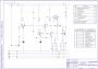 Технологическая схема ректификационной установки А3 упрощенная